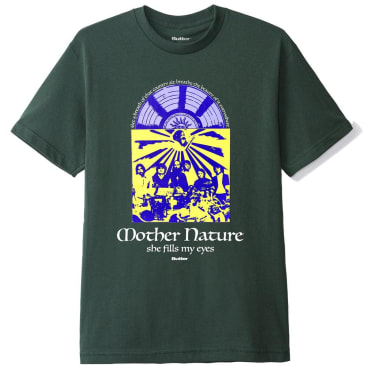 Butter Goods Mother Nature T-Shirt - Forest