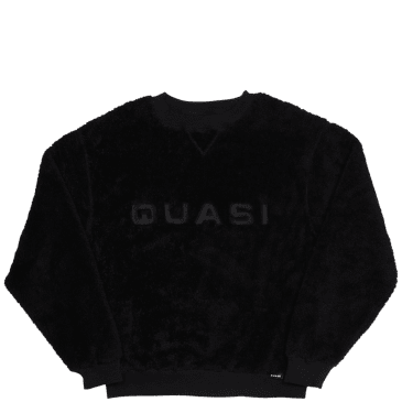 Quasi Mo Crew Sweater - Black