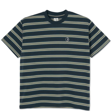 Polar Skate Co Stripe T-Shirt - Navy