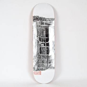 "Heroin Skateboards - 8.625"" 'Cabin Series 2' Craig Questions Deck"