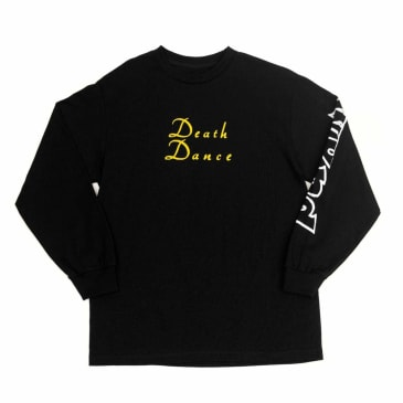 WKND Death Dance Long Sleeve T-Shirt - Black