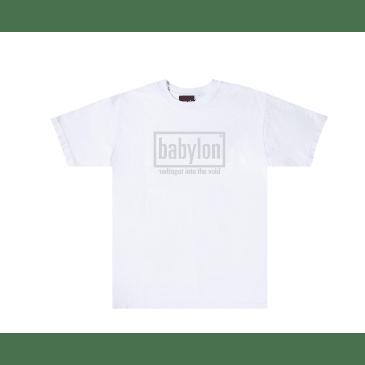 """BABYLON LA - """"VOID T-SHIRT"""" (WHITE)"""