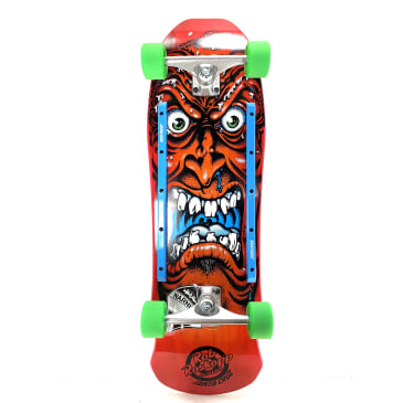 "Santa Cruz Rob Roskopp Face Red Complete 9.5"" Cruiser"