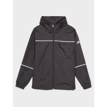 Stussy 3M Nylon Jacket Black