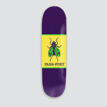 Passport Skateboards - Laugh Now Fly Later Deck (Purple)