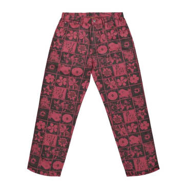 Iggy NYC - Flowers Jeans - Red/Black
