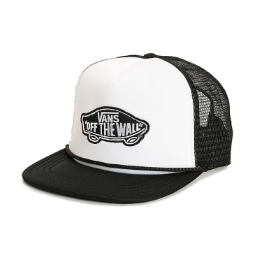 Vans Classic Patch Logo Trucker (Black)