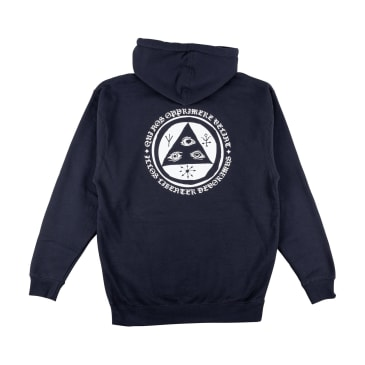 Welcome Skateboards Latin Talisman Pullover Hoodie - Slate