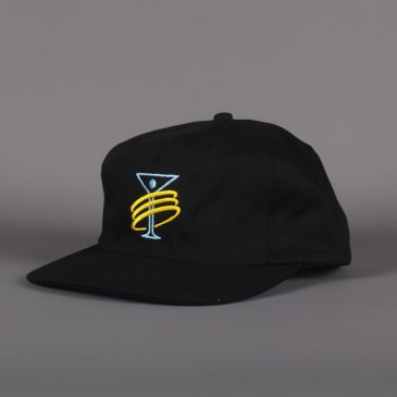 Alltimers 'Training' 6 Panel Hat (Black)