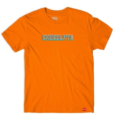 Chocolate Skateboards Bar T-Shirt - Orange