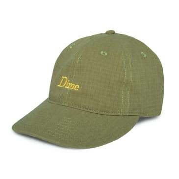 Dime Classic Logo Hat - Military Green
