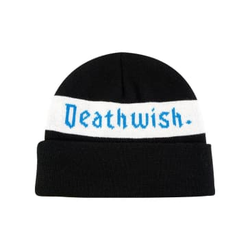 Deathwish Skateboards Kingsley Cuff Beanie - Black