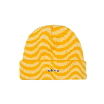 Dime MTL - Wave Beanie - Yellow