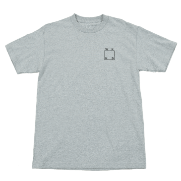 WKND - Reflective Tee - Heather Grey