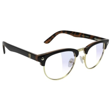 Glassy - Morrison Premium Gaming Glasses - Black/Tortoise/Clear