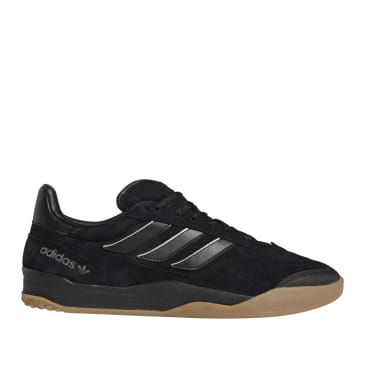 adidas Skateboarding Copa Nationale Shoes - Core Black / Silver Metallic / Gum 2