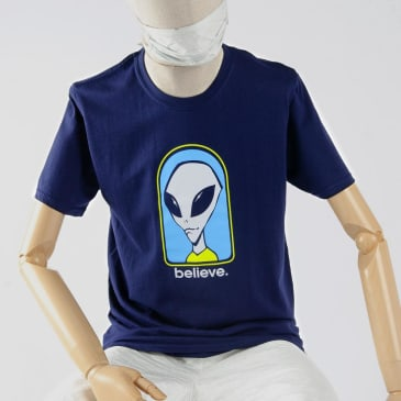 Alien Workshop Believe T-Shirt - Navy