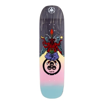 Welcome Skateboards Ryan Lay Bapholit on Stonecipher Skateboard Deck Black Stain - 8.6""