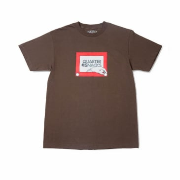Quartersnacks Sketch T-Shirt - Brown