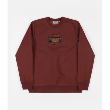 Carhartt x PassPort Thank You Crewneck (Burnt Red)