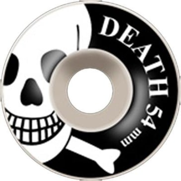 Death Skateboards OG Skull Wheels White - 54mm