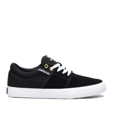Supra Stacks II Shoes - Black / Black / White