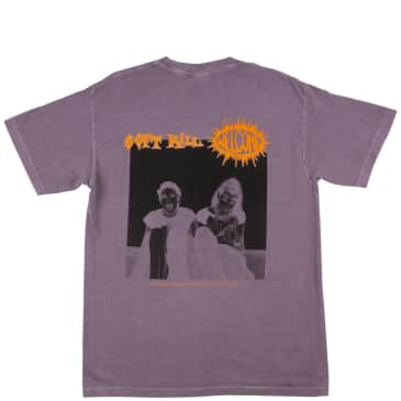 Welcome Soft Kill Garment Dyed T-Shirt - Wine