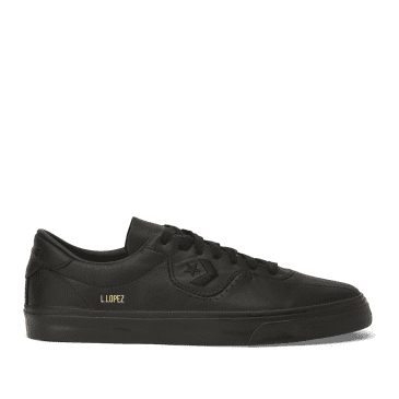 Converse CONS Leather Louie Lopez Pro Shoes - Black/Black/Black