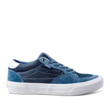 Vans Rowan Pro Skate Shoes - Mirage Blue / White