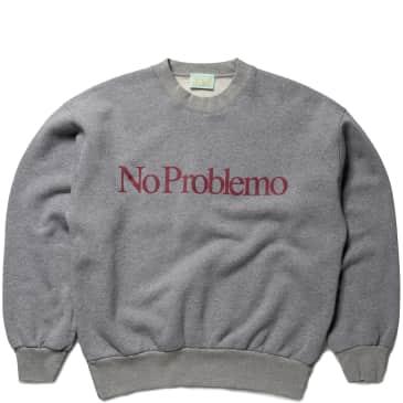 Aries No Problemo Sweatshirt - Grey Marl