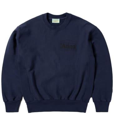 Aries Classic Temple Sweatshirt - Navy