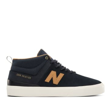 New Balance Numeric 379 Mid Sour Solution Shoes - Navy / Brown