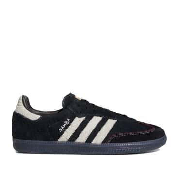 adidas Skateboarding Maite Samba ADV Shoes - Core Black / Cloud White / Core Black
