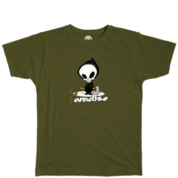 Paradise.NYC Reaper T-Shirt - Olive