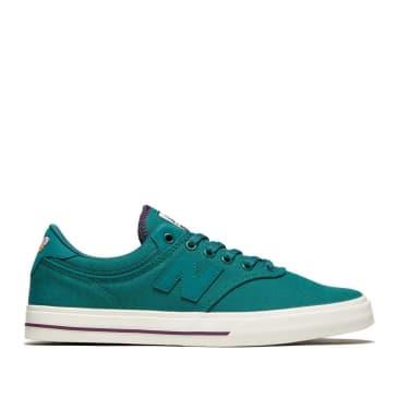 New Balance Numeric Franky Villani 255 Shoes - Green / White
