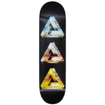"Palace Chrome Tri-Ferg 2 Skateboard Deck - 8.1"""