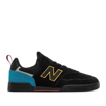 New Balance Numeric 288 Sport Shoes - Black / Yellow