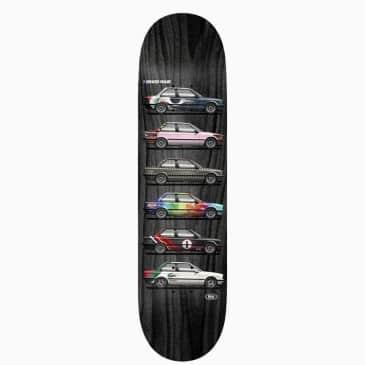 "Real Ishod Customs Twin Tail Skateboard Deck - 8"""
