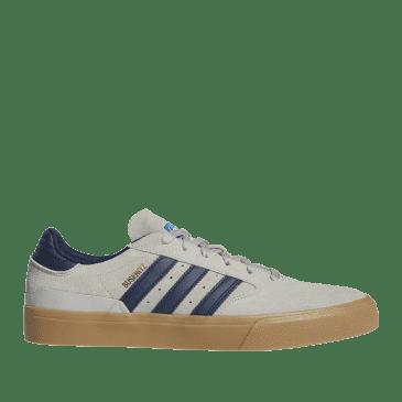 adidas Skateboarding Busenitz Vulc II Shoes - Grey Two / Collegiate Navy / Gum