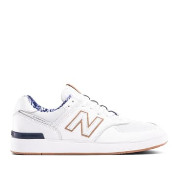 New Balance All Coasts AM574 Shoes - White / Arctic
