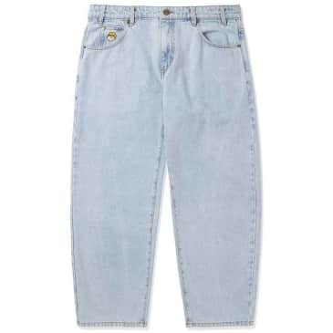 Butter Goods Santosuosso Denim Pants - Light Blue