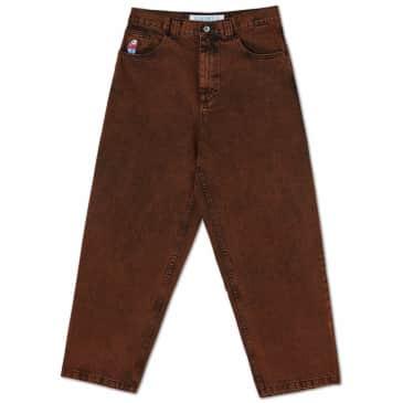 Polar Skate Co Big Boy Jeans - Orange Black