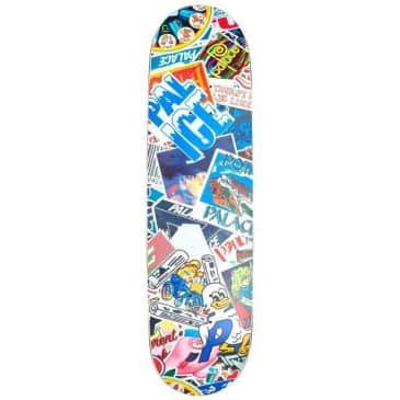 """Palace Sticker Pack Slick Skateboard Deck - 8.1"""""""