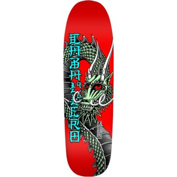 """Powell Peralta Caballero Ban This Skateboard Deck Red: 9.265"""""""
