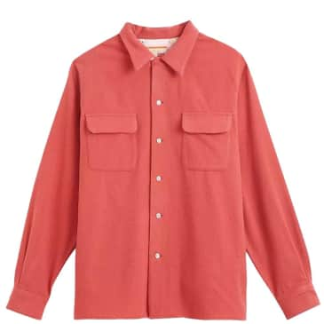 Levi's Vintage Clothing Styled By Levis Shirt - Baked Apple Red