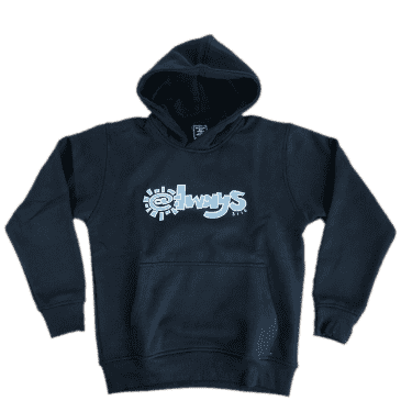 always do what you should do 3116 Hoodie - Black