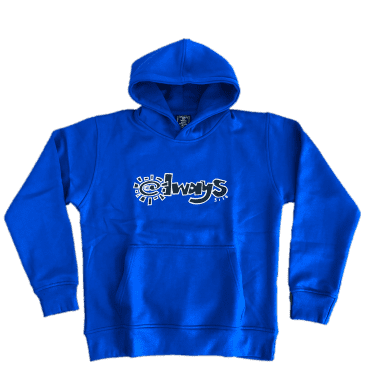always do what you should do 3116 Hoodie - Royal Blue