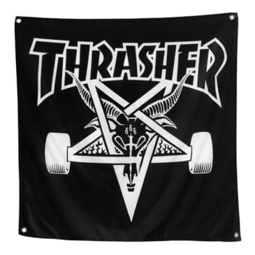 Thrasher Skategoat Banner - Black