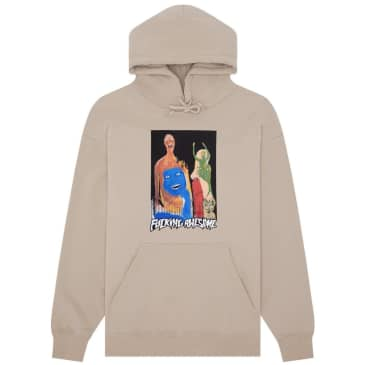 Fucking Awesome Dill Collage II Hoodie - Sand