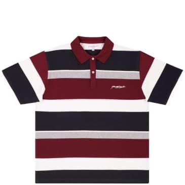 Yardsale Kingston Polo - Red / White / Grey